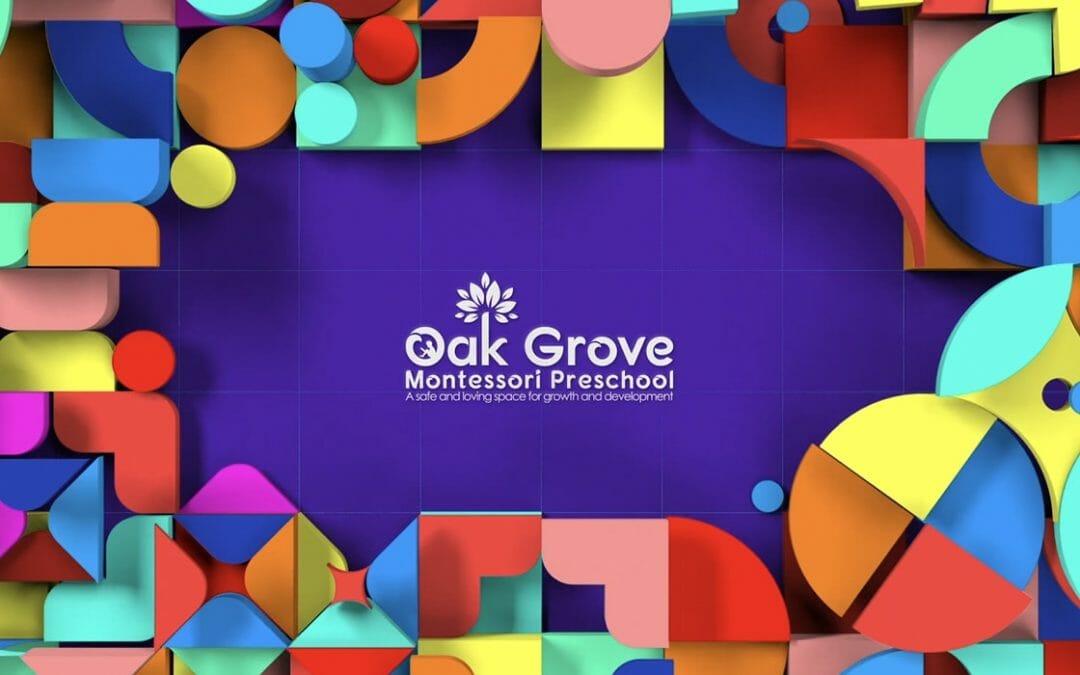 Oak Grove kids shapes opener video
