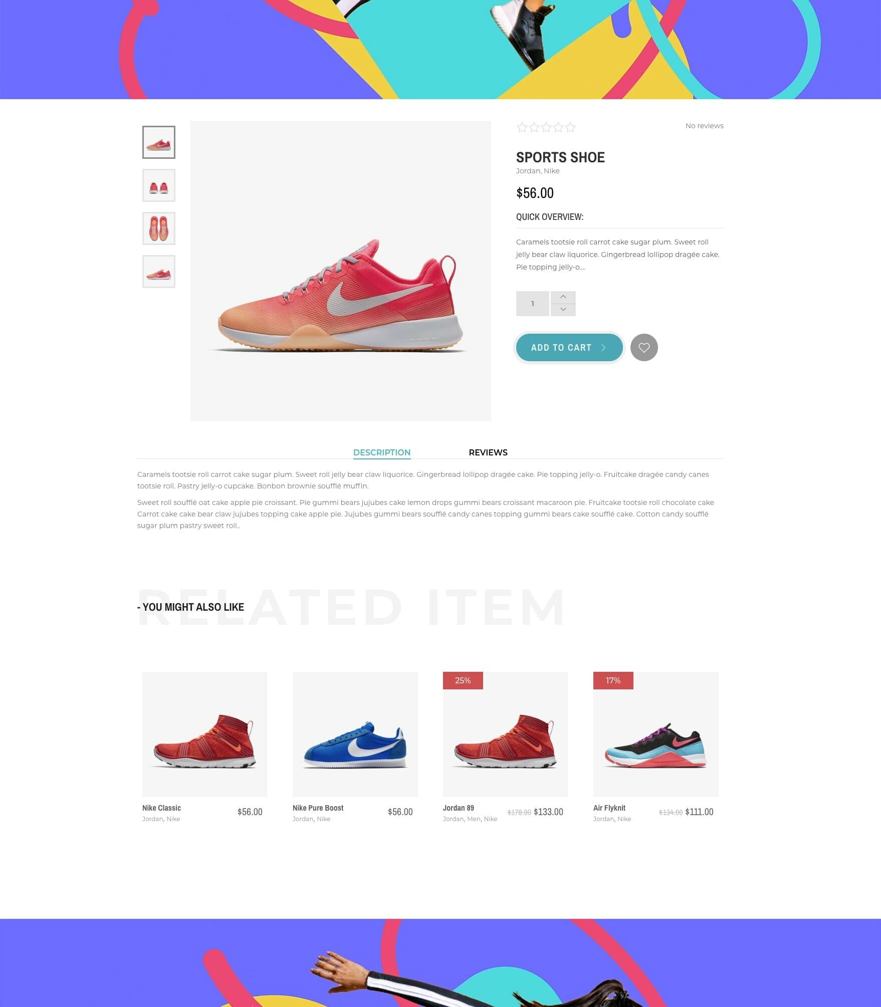 Nike website 4