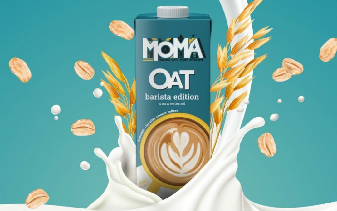 Chilla Vegan Moma Milk landing page