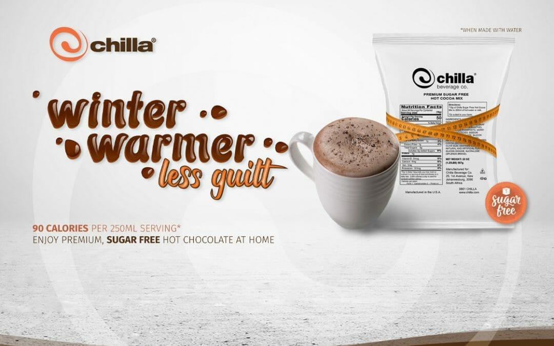 Chilla Winter Warmer landing page