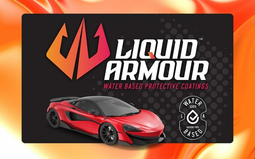 Liquid Armour coming soon website