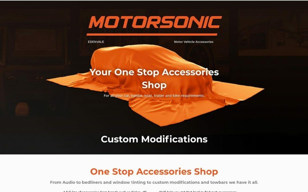 Motorsonic website